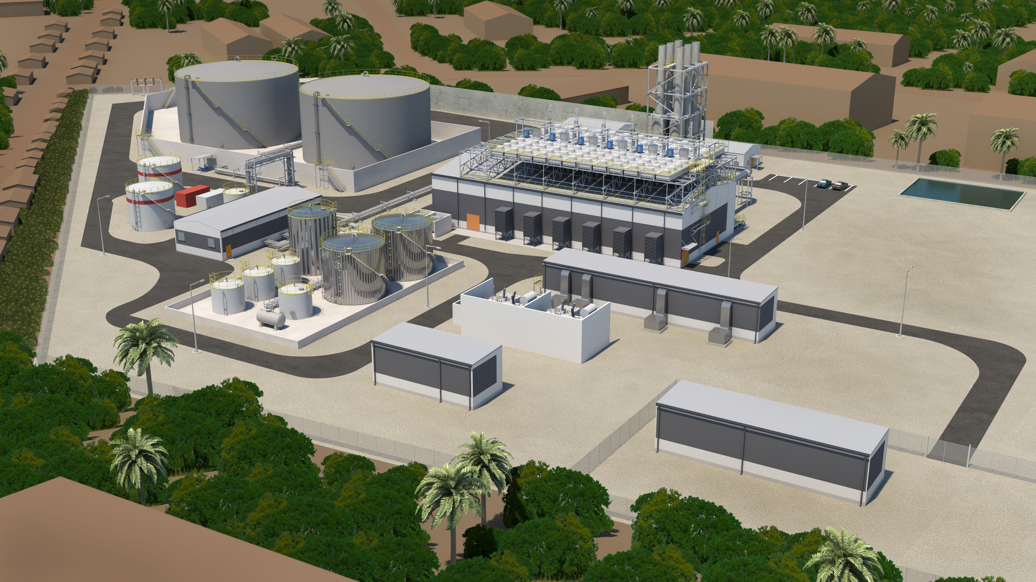 Wärtsilä supplies a 57 MW power plant to Sierra Leone