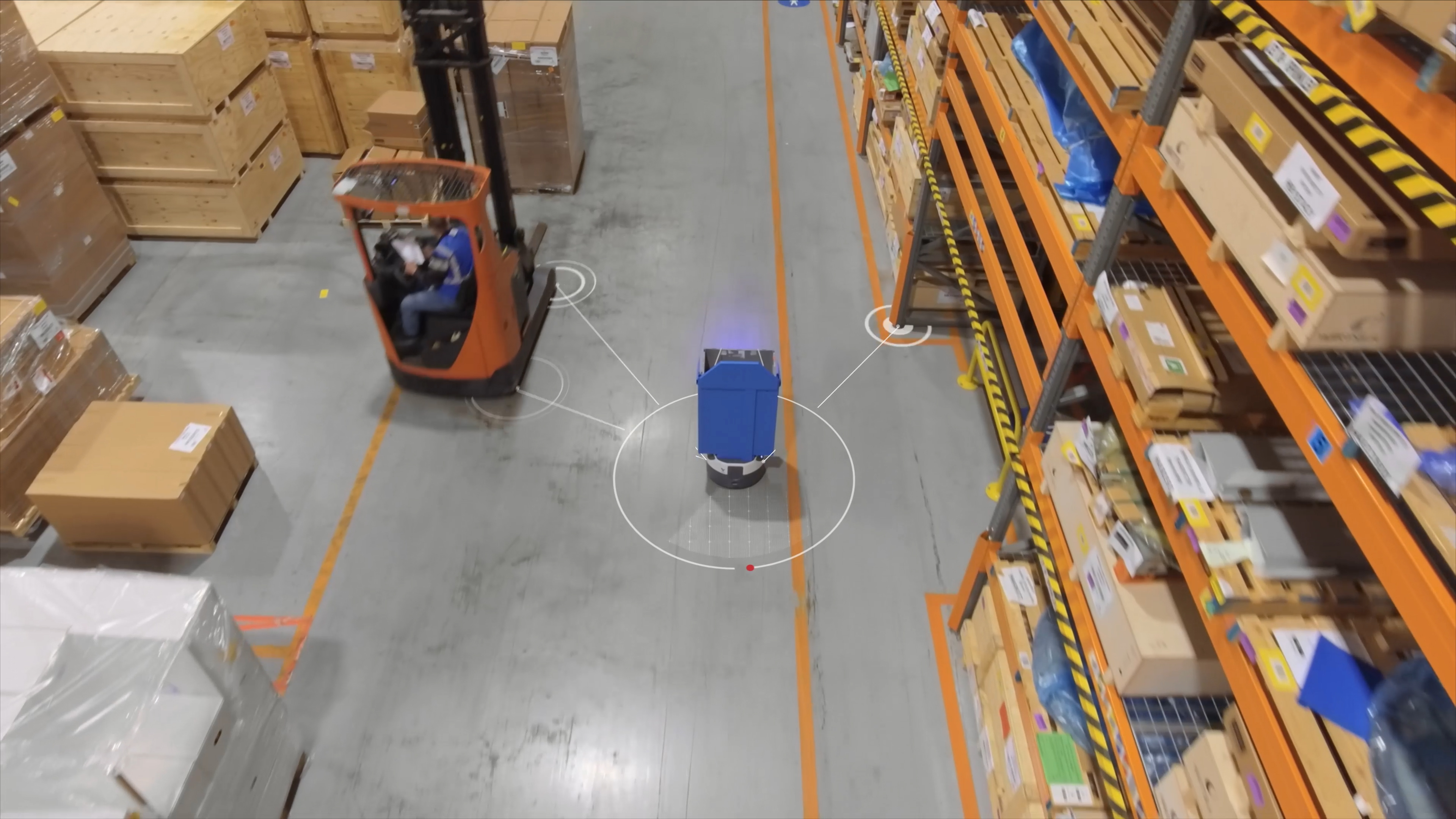 Wärtsilä and DHL deploy cutting-edge mobile robots from